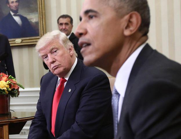 Obama trump carbone