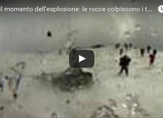 esplosione dell'Etna