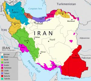 le etnie in Iran