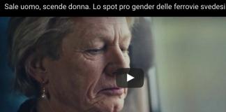 donna spot pro gender ferrovie svedesi