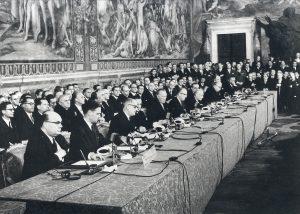 trattati di roma firma 1957