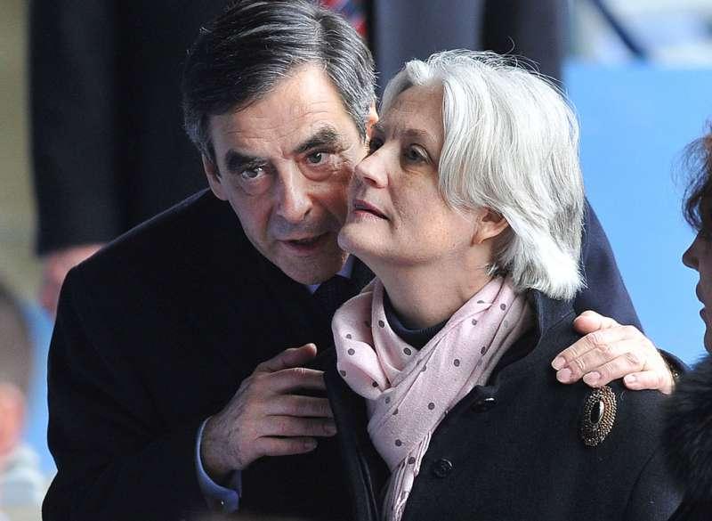 Penelope e Francois Fillon
