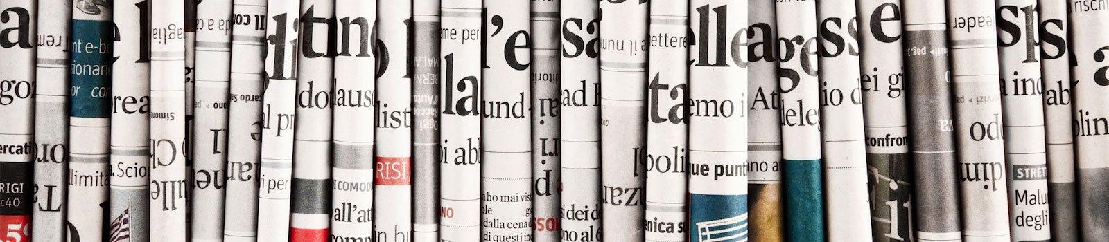 Cosa dicono i giornali di oggi le prime pagine dei for Camera dei deputati rassegna stampa