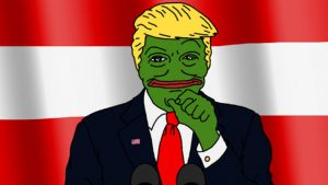 zara trump pepe the frog
