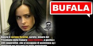 Boldrini sorella meme bufale Facebook