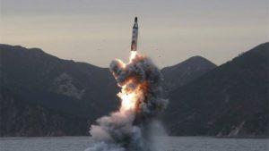Missile corea del nord