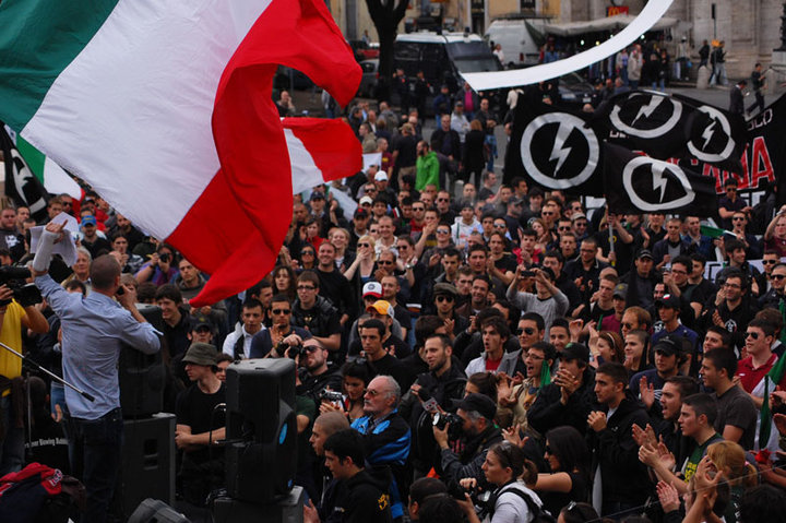 Blocco Studentesco congresso