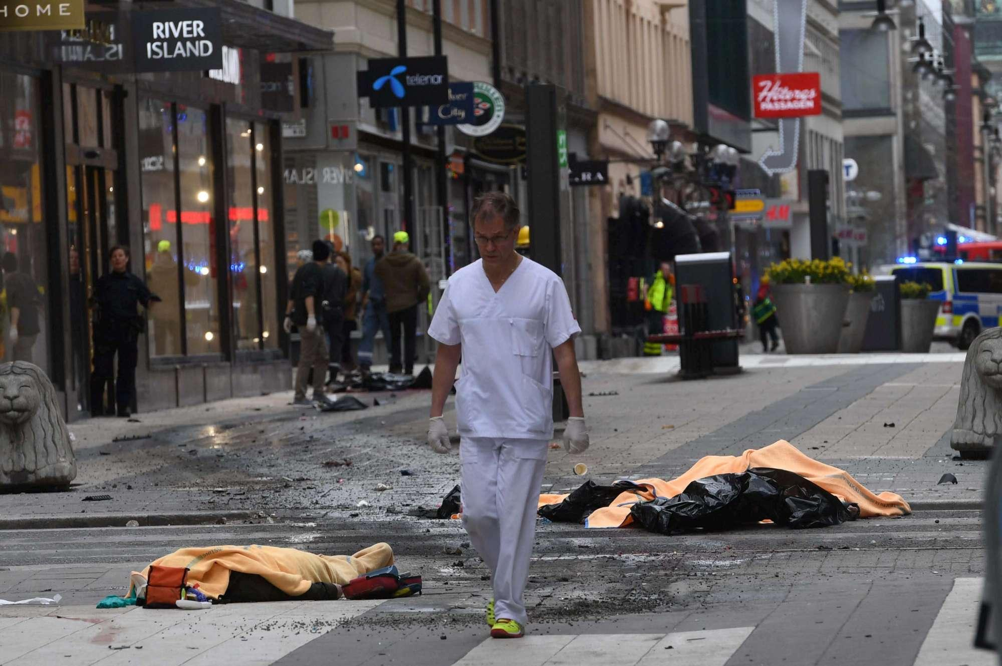 attentato stoccolma psicologa belga immigrati