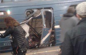 Esplosione San Pietroburgo