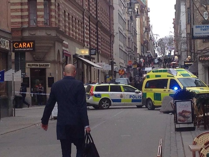 Terrorismo Svezia