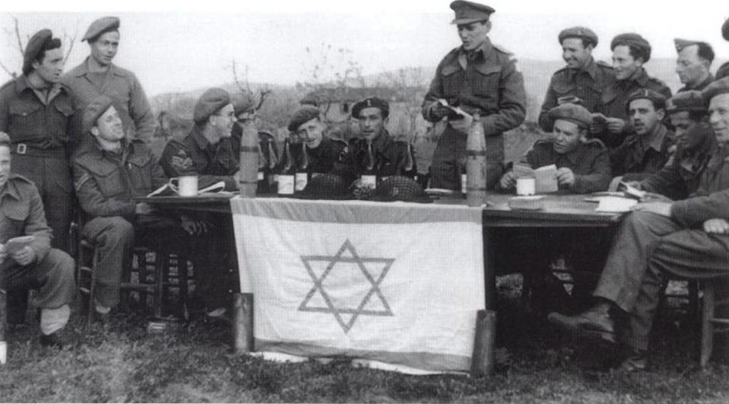 Brigata Ebraica, reparto dell'esercito inglese, non partigiani