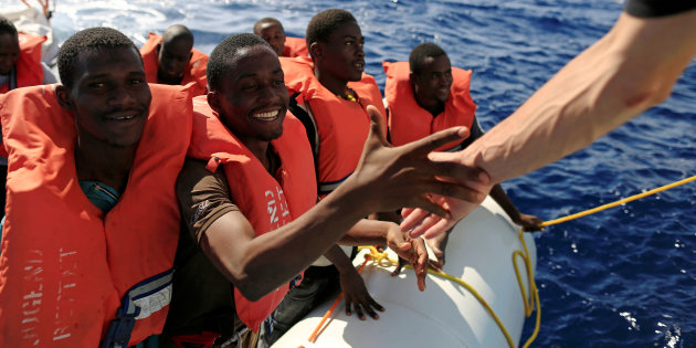Ong immigrati barconi Frontex