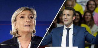exit poll presidenziali francia