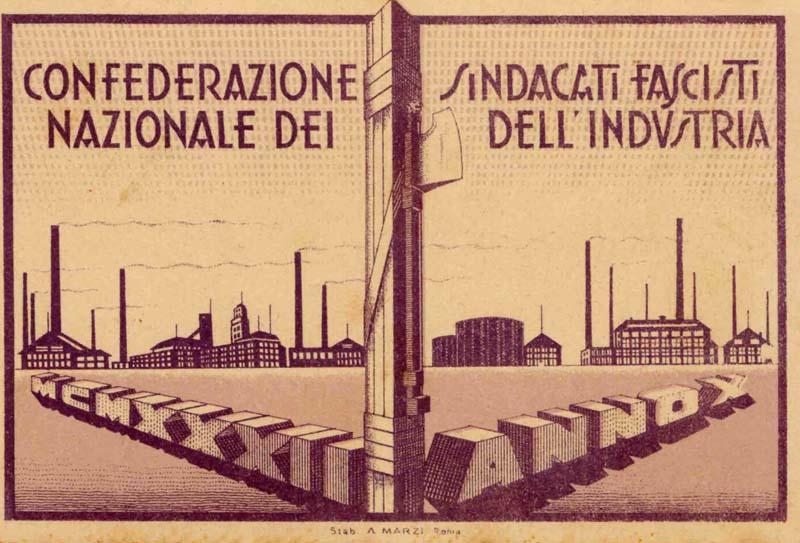 Carta del lavoro fascismo terza via