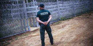 muro barriera confine