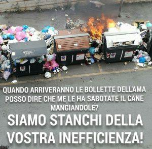 Rifiuti Roma Fabrizio Montanini Beltramelli Meda