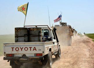 truppe Usa e Gb sud est Siria