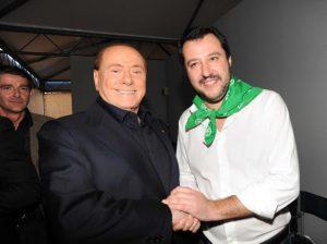 Salvini alleanza centrodestra Berlusconi lepenismo