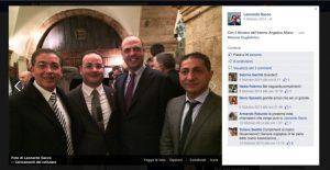 Il ministro Alfano con boss accoglienza