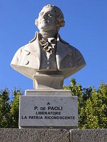 Rivoluzione Corsa Pasquale Paoli
