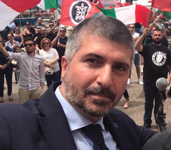 Simone Di Stefano elezioni comunali CasaPound