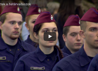 polizia anti immigrati ungherese Orban cacciatori di frontiera
