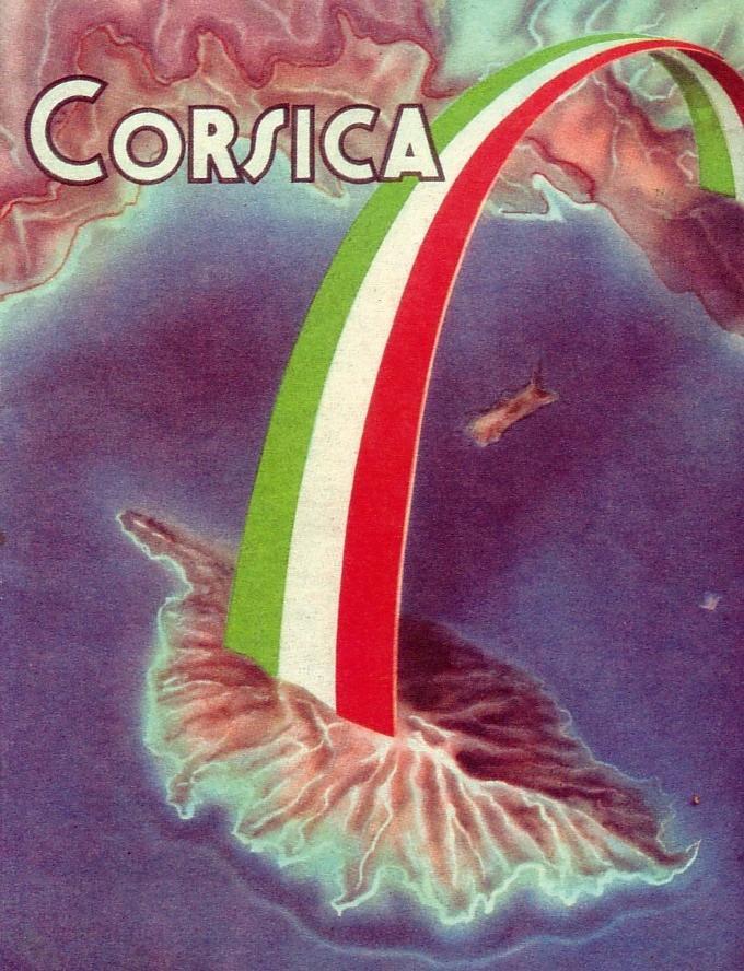 corsica italia cartolina