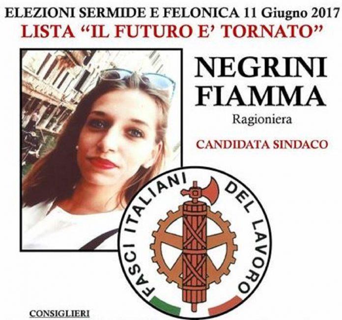 fiamma negrini fasci italiani del lavoro