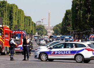 attentato parigi champs élysées