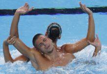 nuoto sincronizzato oro migranti