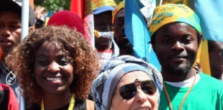 Emma Bonino in chiesa Biella migranti