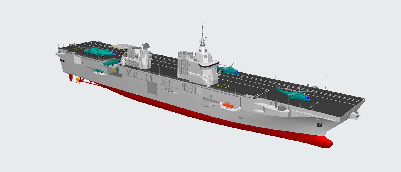 Marina militare impostata la nuova lhd che sostituir il - Nuova portaerei ...