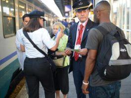immigrati treni Lecco nigeriani