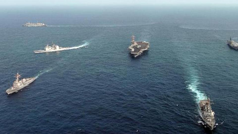 india esercitazioni navali