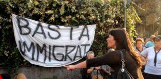 protesta immigrati