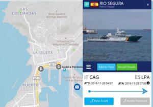 navi spagnole migranti in Italia