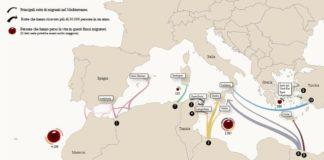 navi spagnole ong in Italia Renzi