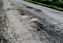 buche strada provinciale