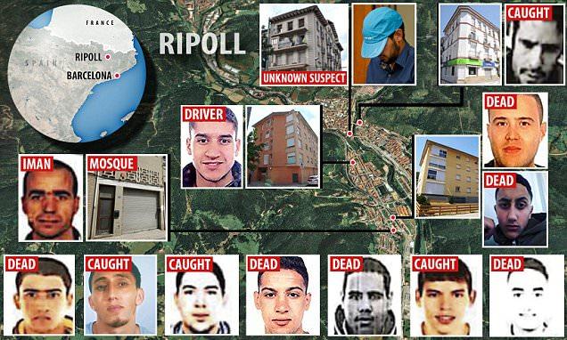Barcellona, l'imam di Ripoll sarebbe morto in esplosione ad Alcanar