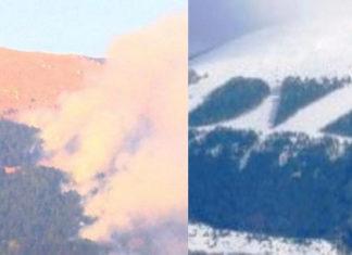 scritta DVX fiamme distrutta incendio