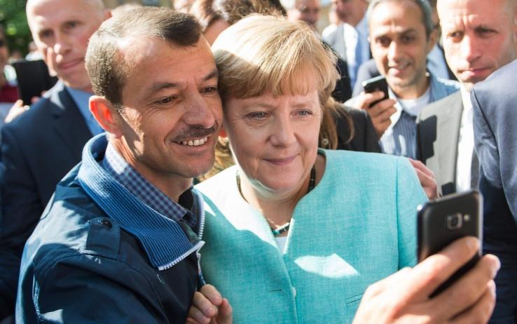 Merkel immigrati