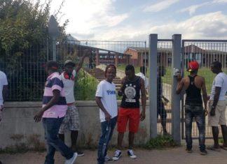 Torino protesta profughi