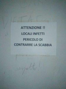 scabbia roma II municipio