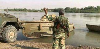 Siria esercito Assad attraversa Eufrate