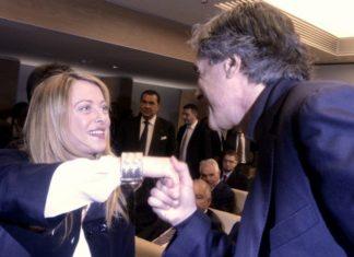 Ostia Salvini Meloni Marchini CasaPound