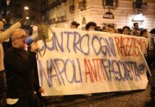 Centri sociali Napoli CasaPound scontri