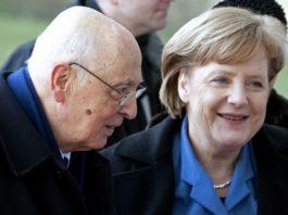 Napolitano elezioni tedesche