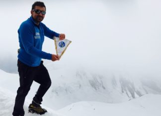 riccardo bergamini alpinista Manaslu 8000