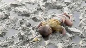 Rohingya birmania child dead