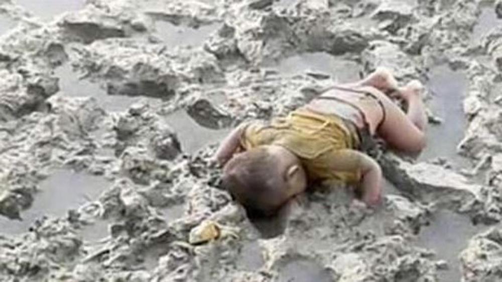 Rohingya birmania child dead